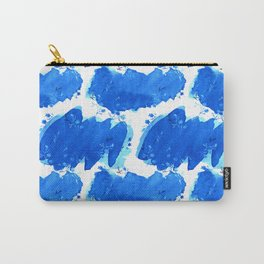 Abstract Watercolor | Paper Blue Carry-All Pouch