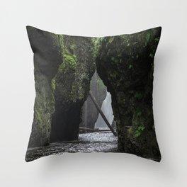 Oneonta Gorge Throw Pillow