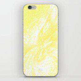 Splatter in Lemonade iPhone Skin