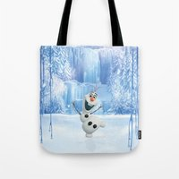 olaf Tote Bags featuring OLAF by Electra