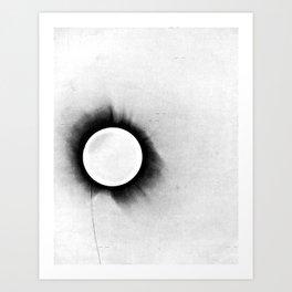 1919 Solar Eclipse Art Print