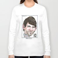 messi Long Sleeve T-shirts featuring MESSI by BANDY
