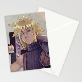 Final Fantasy - Cloud Strife Tribute Stationery Cards