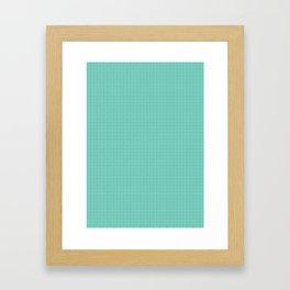 Tiffany Pattern Framed Art Print