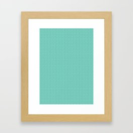 Tiffany Pattern Framed Art Print