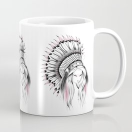 Indian Headdress Pink Version Coffee Mug