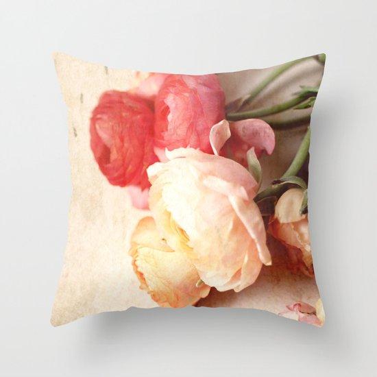 Romantic Heart Throw Pillow