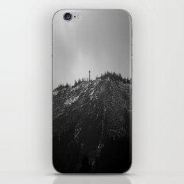Black Butte iPhone Skin