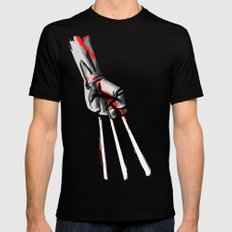 Wolverine Black Mens Fitted Tee SMALL