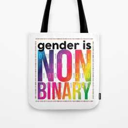 Nonbinary Tote Bag