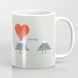 I Lava You Coffee Mug