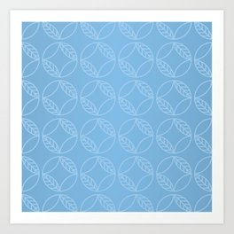 Geometrical seamless pattern background Art Print
