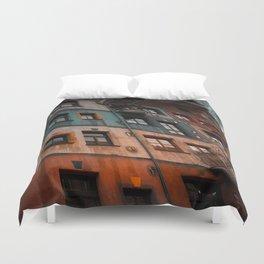 Hundertwasser museum Duvet Cover