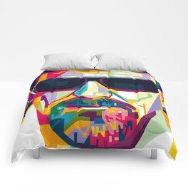 Pop Art London Vector Artist CONQR Ultimate Gangster Comforters