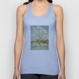 Vincent Van Gogh Peach Tree In Blossom Unisex Tank Top