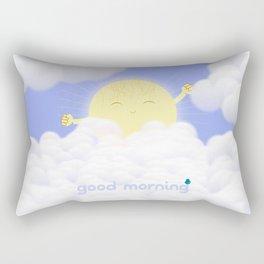 Good Morning Sky Rectangular Pillow