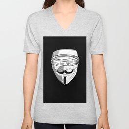 Society Covered Eyes Unisex V-Neck