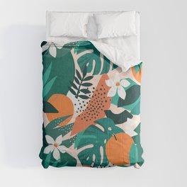 Wild oranges Comforters