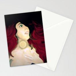 Realistic Portrait, Ariel Stationery Cards