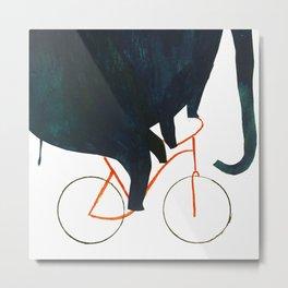 Reason TWO for using bike: Metal Print