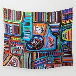 Pueblo Art Wall Tapestry