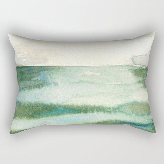 Emerald Sea Watercolor Print by emeraldtree