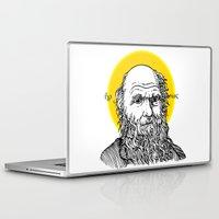 darwin Laptop & iPad Skins featuring St. Darwin by Kexit guys
