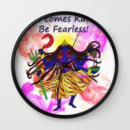 Kali comes Kali-ng! Wall Clock