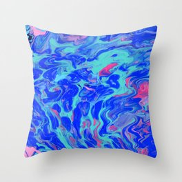 Paint Pouring 31 Throw Pillow