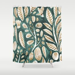 Living Plants Shower Curtain