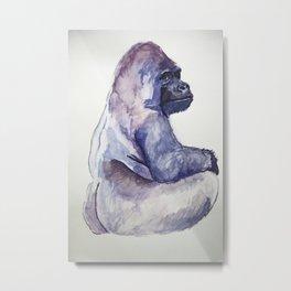 The Emperor - Gorilla Metal Print