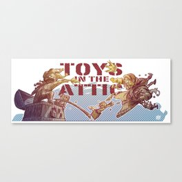 Toys In The Attic Canvas Print