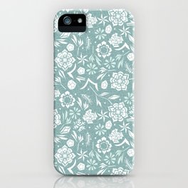 Frozen garden iPhone Case