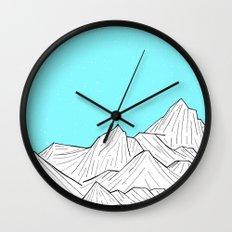 Glacier Mounts Wall Clock