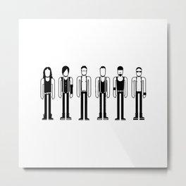 Rammstein Metal Print