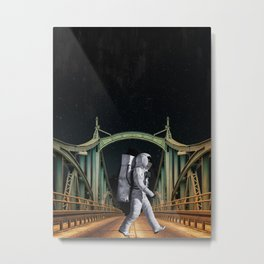 The Moonwalk Metal Print