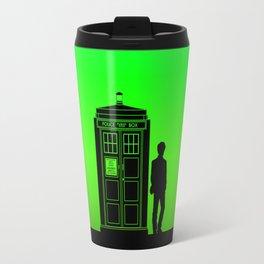 Tardis With The Eleventh Doctor Travel Mug