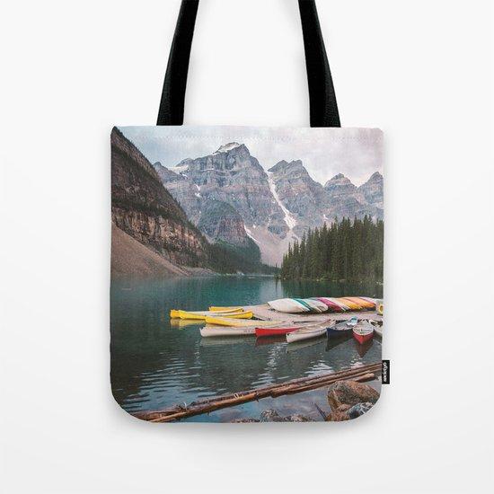 Lake Moraine Tote Bag