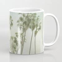 palm trees Mugs featuring Palm Trees by Pure Nature Photos