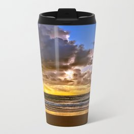 Rainbow Beach Sunrise Metal Travel Mug