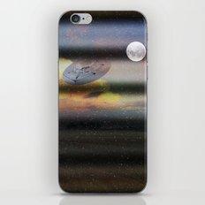 What is Reality?  Fun UFO image iPhone & iPod Skin
