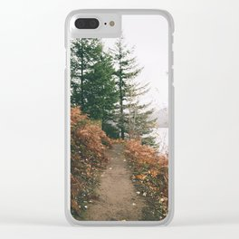 Happy Trails XVI Clear iPhone Case