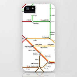 There And Back Again iPhone Case