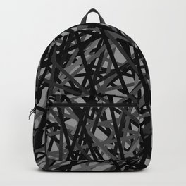 Kerplunk Extended Black and White Backpack