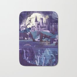 The Castle on the Hill Bath Mat