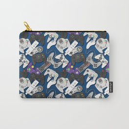 Game On- Blue Carry-All Pouch