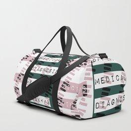 HEART</3BREAK green Duffle Bag