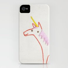 U Unicorn iPhone (4, 4s) Slim Case