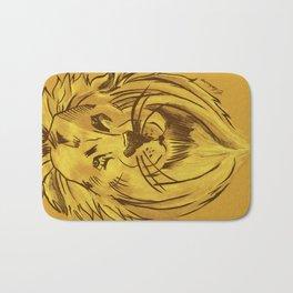 Golden King   Rei dourado Bath Mat
