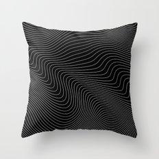 Distortion 017 Throw Pillow